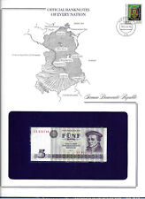 Banknotes of Every Nation GDR East Germany 1975 5 Mark UNC P 27a UA630740