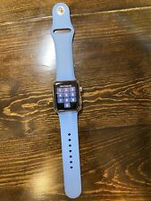 Apple Watch Series 3 38mm Stainless Steel Case w/2 Sport Band (GPS + Cellular)