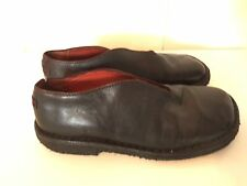Camper's Black Leather Loafers Women Size 9 - 9.5 (Euro 40) Shoes Flats