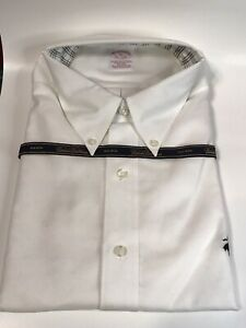 Brooks Brothers Size XL Dress Shirts White New W Tags Button Down Up Men's