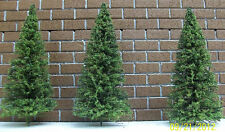 "O SCALE PINE TREES -  30 Pk. 7"" Tall // Model railroad / Miniatures / Diorama /"