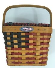 New ListingLongaberger 25th anniversary basket With Liner And Protector 73-98 Americana