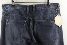 Mens DEISEL Jeans STRAIGHT BUSKY WASH 0088CE Button Fly W36 L32 VERY GOOD P85