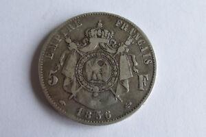 France 5 Francs 1856 A