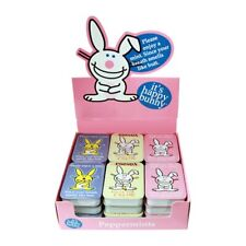 It's Happy Bunny Breath Mints in Humorous Illustrated Metal Tins Box of 18 MINT