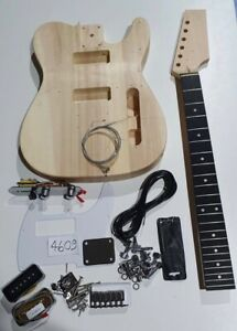 Tele Electric guitar kit guitar P90 P90's DIY unbranded telecaster t shape P 90