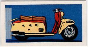 """Maicoletta"" Italian Mid-1950s Motor Scooter Vintage Trade Ad Card"