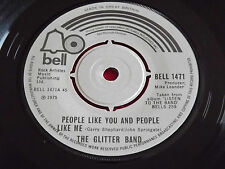 """The Glitter Band~People Like You And People Like Me/Makes You Blind [7""""@45] 1975"""