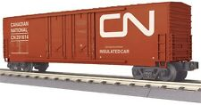 MTH 30-74774, O Scale, 50' Double Door Plugged Boxcar - CN Candian National
