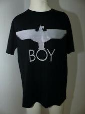 "Neues Boy London T-Shirt Gr XS ""Eagle Mold Tee"" Schwarz Front Eagle Print Unisex"