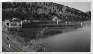 Original Photo MADAGASCAR 1948 lac Andraikiba n26