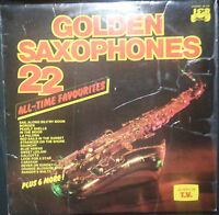 GOLDEN SAXOPHONES 22 ALL TIME FAVOURITES VINYL LP AUSTRALIA