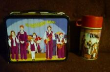 Vintage 1971 David Cassidy TV Metal Lunchbox & Thermos Keith Partridge Family