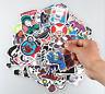 100pcs Cool Vinyl Decal Graffiti Sticker Bomb Skate Laptop Luggage PVC Stickers