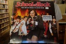 Music from School of Rock 2xLp red yellow vinyl new etched
