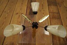 50er VINTAGE DECKENLAMPE Tütenlampe LEUCHTE LAMPE LAMP Rockabilly Kronleuchter