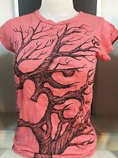 New TOP sleeveless shirt BUDDHA tree of life S weed Hippie cotton sure love om