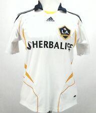 Adidas Clima 365 Beckham LA Galaxy MLS Womens Soccer Jersey White Medium
