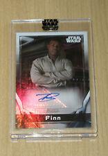 2021 Topps Star Wars Signature autograph auto John Boyega as Finn