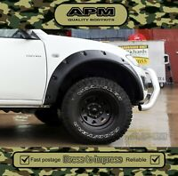 APM Fender Wheel Guard Flares For Mitsubishi Triton 06-14 MN/ML (FRONTS) Smooth