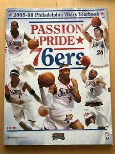 PHILADELPHIA 76ers 2005 - 2006 YEARBOOK Sixers Iverson Webber Iguodala