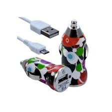Lighter car charger with usb data cable cv12 for nokia asha 200/: