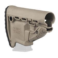 FAB Defense Survival Butt Stock w/ Built In Magazine Carrier Desert Tan GL-MAG T