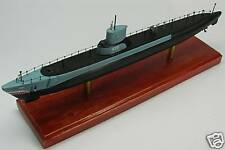 SS-423 USS Torsk Submarine Mahogany Kiln Dry Wood Model Large New