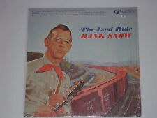 HANK SNOW -The Last Ride- LP