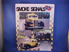 1935 Taxi, 1955 860,870 Catalina Station Wagon ad--Smoke Signals June 1997, 6-97