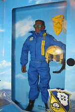 GI JOE 12 INCH US NAVY BLUE ANGEL'S DEMONSTRATION TEAM BLACK FIGHTER PILOT FIG.