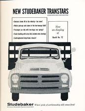 1956 Studebaker Truck - Classic Car Advertisement Print Ad J67