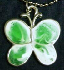 Sherbet Butterfly pendant (green)