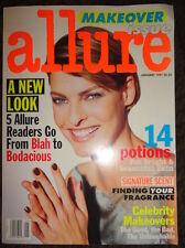 Vtg Allure 1/1997 Andie McDowell, Juliette Binoche Kate Moss Linda Evangelista
