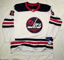 PATRIK LAINE - size 54 = XL Winnipeg Jets Adidas Retro Heritage NHL Jersey White
