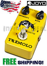 New JOYO Crunch Distortion JF-09 Tremolo Trem Guitar Effects Pedal FX Stompbox