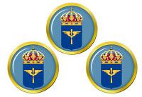 Flygvapnet (Suédois Air Force) Marqueurs de Balles de Golf
