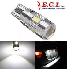 LAMPADINA LED T10 W5W 5630 PER AUTO 12V 2,5W BIANCO