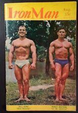1963 IRON MAN MAGAZINE Aug. Bill Seno Randy Watson Vern Weaver Rare VHTF