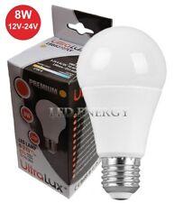 Lampada Led Lampadine Led E27 12V 24V 8W per Pannello Solare Fotovoltaico Camper
