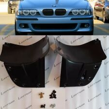 BMW E39 M5 L+R FRONT form M BUMPER SPLASH PANEL ABS plastic with instalation kit
