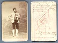 Wien, Autoportrait du photographe Fritz Luckhardt, en costume traditionnel  Vint