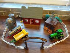 Toy Farm Bundle Vehicles House Vintage