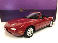 Mazda Eunos Roadster Rouge 1:18 Echelle Kyosho KSR18031R Résine Neuf