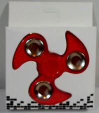 FIDGET SPINNER NINJA HAND SPINNER STAR 3'' RED RELAXING TOY HIGH SPEED MIP NEW