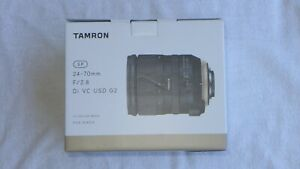 Tamron G2 24-70mm F2.8 Di VC USD Lens in Nikon Fit