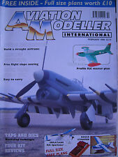 Aviation Modeller International - February 1999 Complete with Unused Plan SF 260