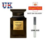 TOM FORD TOBACCO VANILLE- AFTERSHAVE - 10ML -  EDP - ATOMISER - TRAVEL - SAMPLE