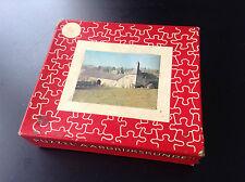 Rare Puzzle du Timbre Tintin incomplet BON ETAT