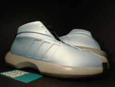 2001 OG ADIDAS THE KOBE 1 ALL-STAR ICE BLUE GRAPHITE GREY BLACK CRAZY 668414 9